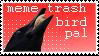 i am bird pal by xCrowe