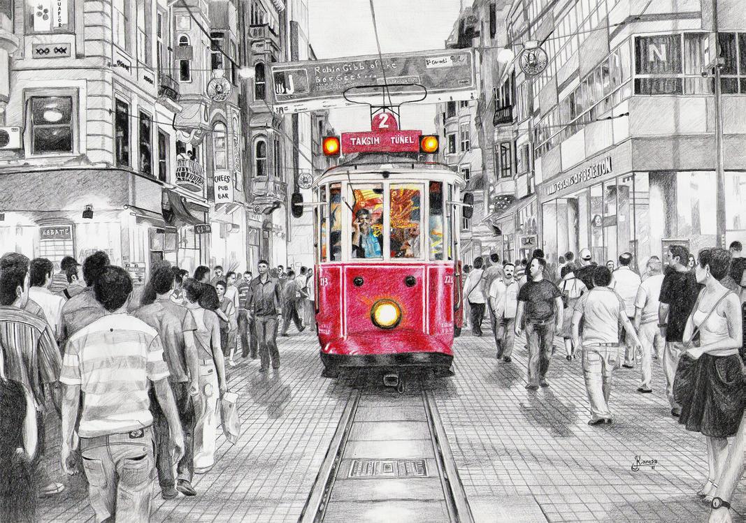 Istiklal Caddesi by ivoignob on DeviantArt