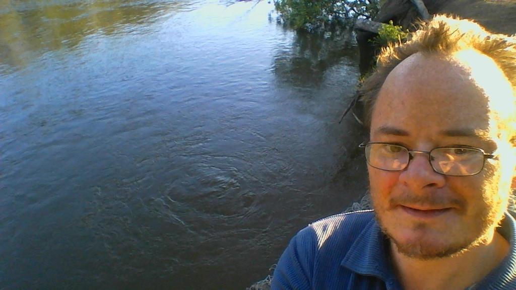 start of river walk by adamswondergarden