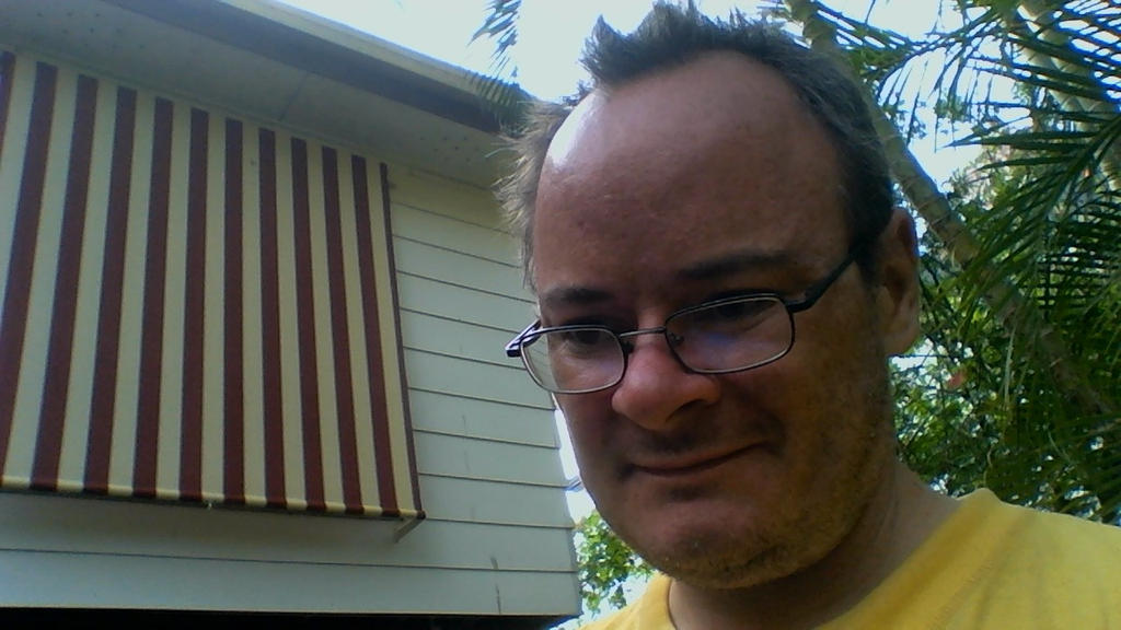 accidental selfie by adamswondergarden