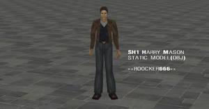 SH1 Harry Mason static model OBJ