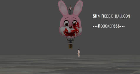 silent hill 4 robbie balloon by roocker666