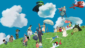 Ghibli wallpaper -Wip-