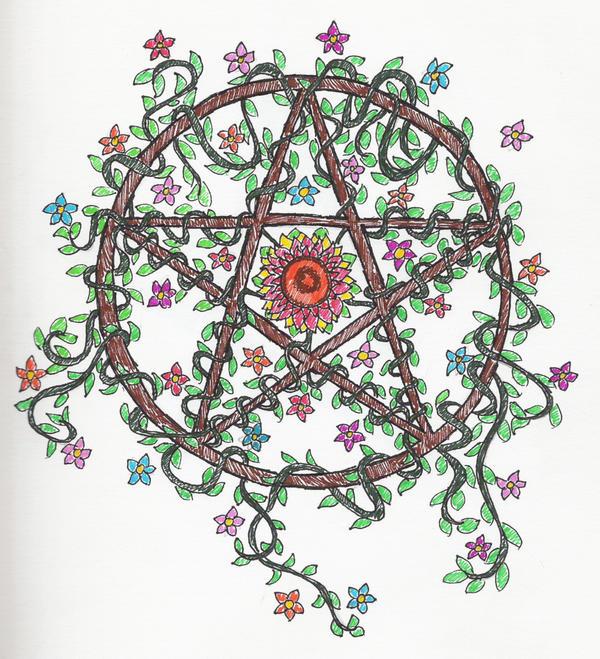 pentagram by artimisia absinthium on deviantart. Black Bedroom Furniture Sets. Home Design Ideas