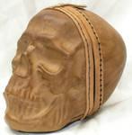Full size leather skull 1
