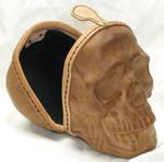 Full size leather skull 3
