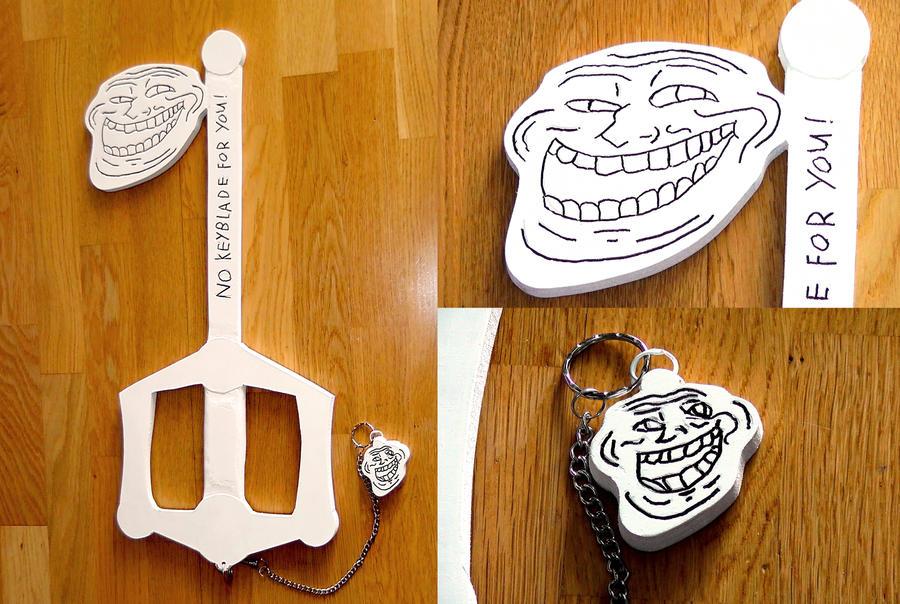 Troll blade (key blade) by SoulessStranger