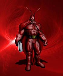 The Crimson Cockroach by JJStudioComics