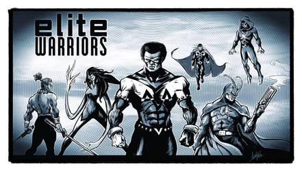 Elite Warriors by ADE-Doodles by JJStudioComics