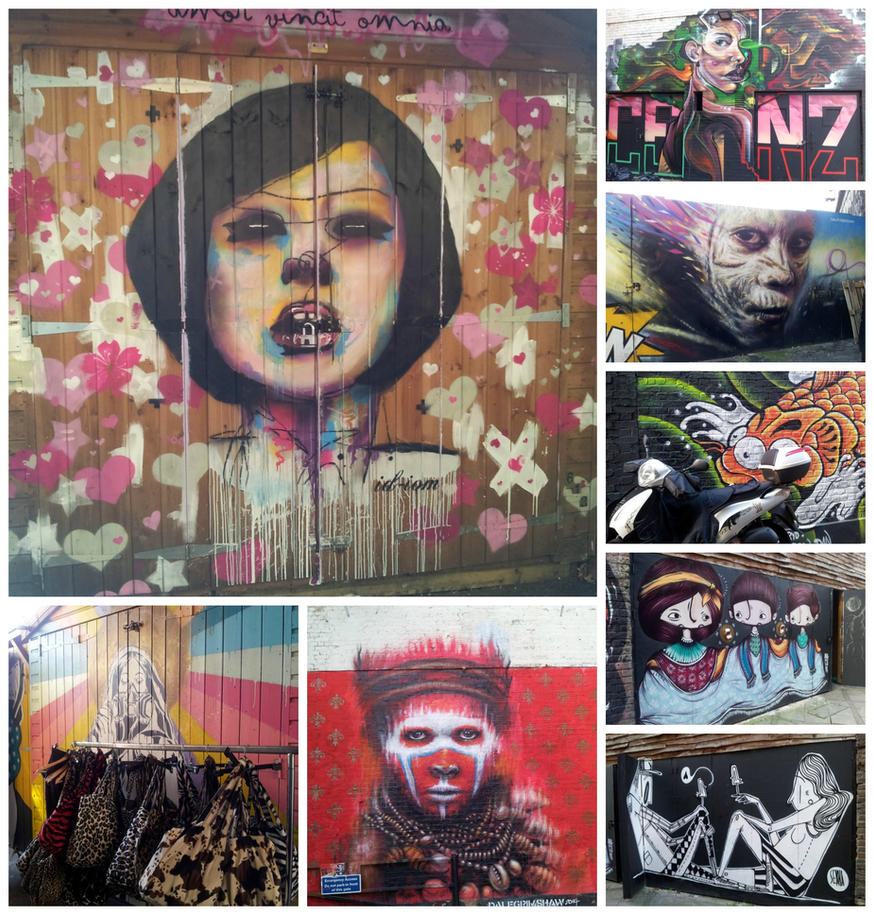 Camden Lock Streetart by mlatimerridley