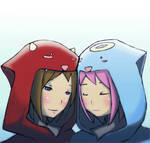 Devie and ange hoodie