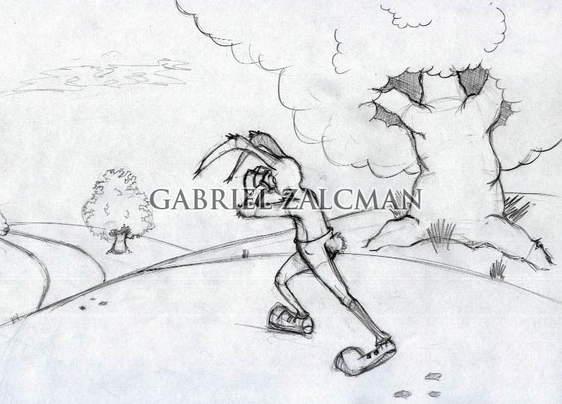 La liebre y la tortuga 2 by gabo2020