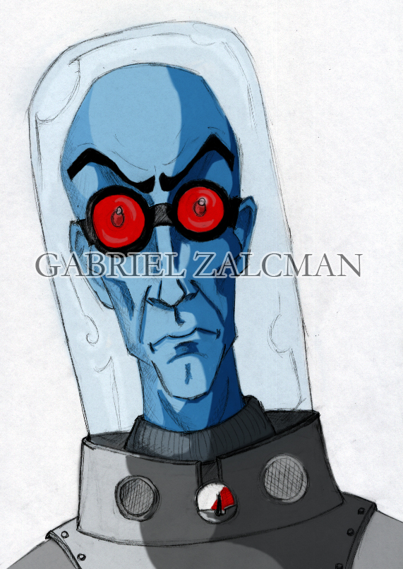 Mr. Freeze 1 by gabo2020