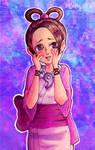 Pearl Fey Ace Attorney color version by LestatHallwardHolmes