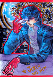 Joker Night City by LestatHallwardHolmes