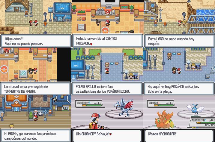 descargar pokemon diamante para pc mega