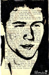 Nick Jonas in a book