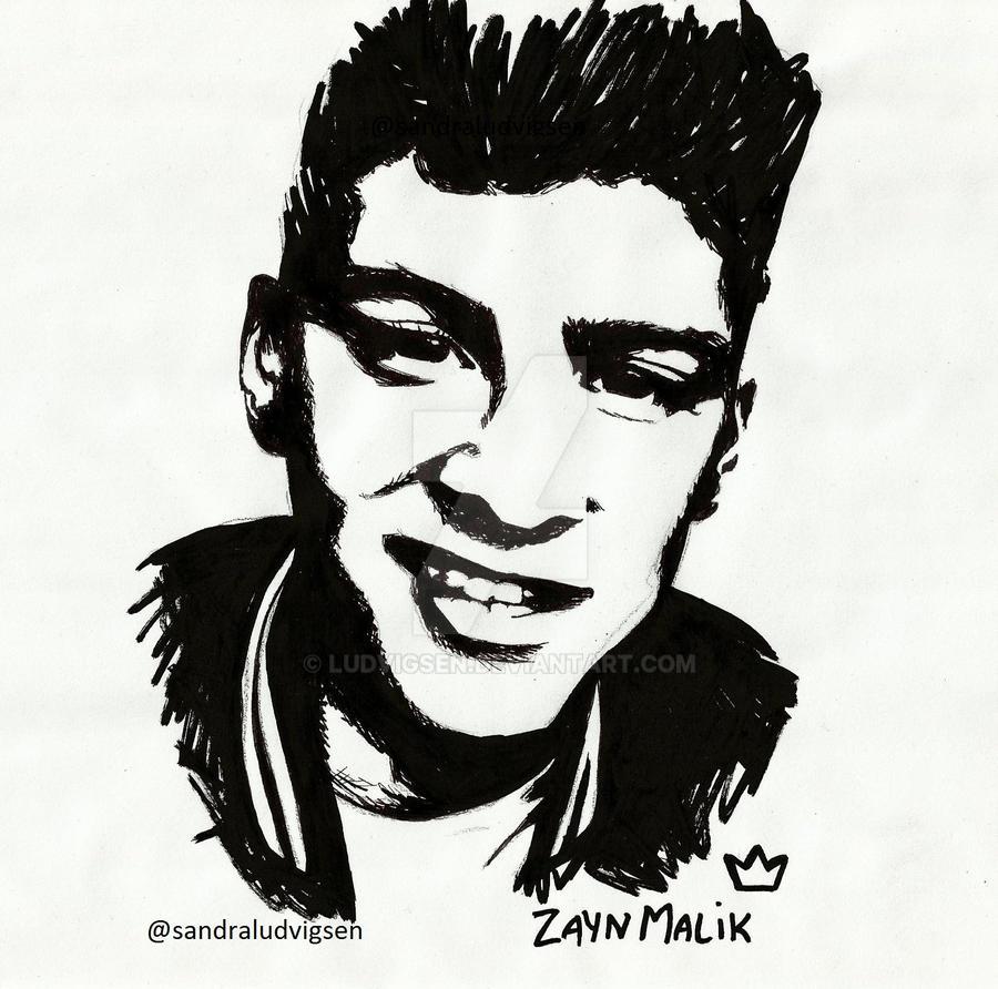 Zayn Malik by ludvigsen