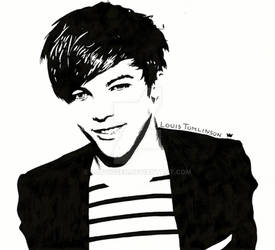 Louis Tomlinson One Direction by ludvigsen