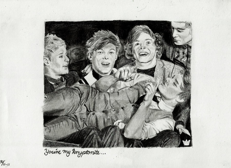 One Direction One Thing by ludvigsen