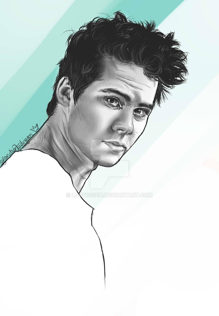 Dylan O'Brien by ludvigsen