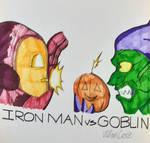 Iron Man vs Goblin