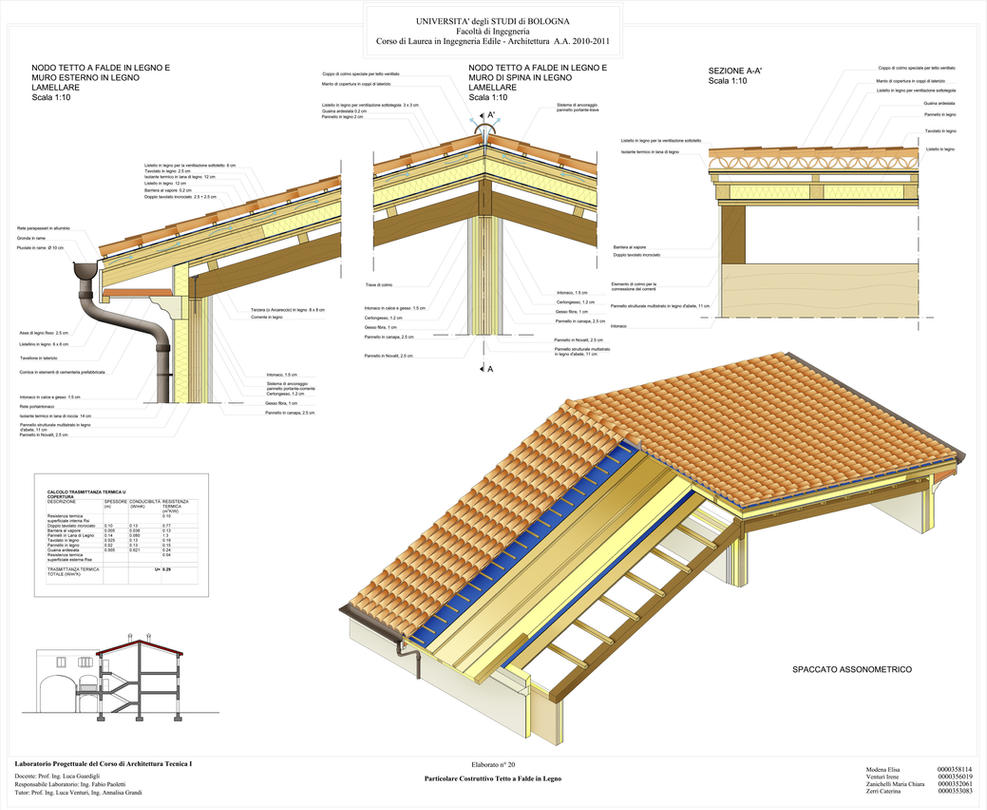 Tetto a falde pitched roof by xaide89 on deviantart - Tetto a falde inclinate ...