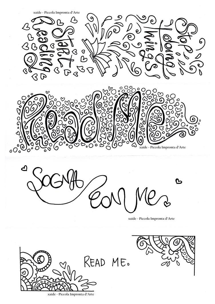 Mandala - Bookmarks by xaide89