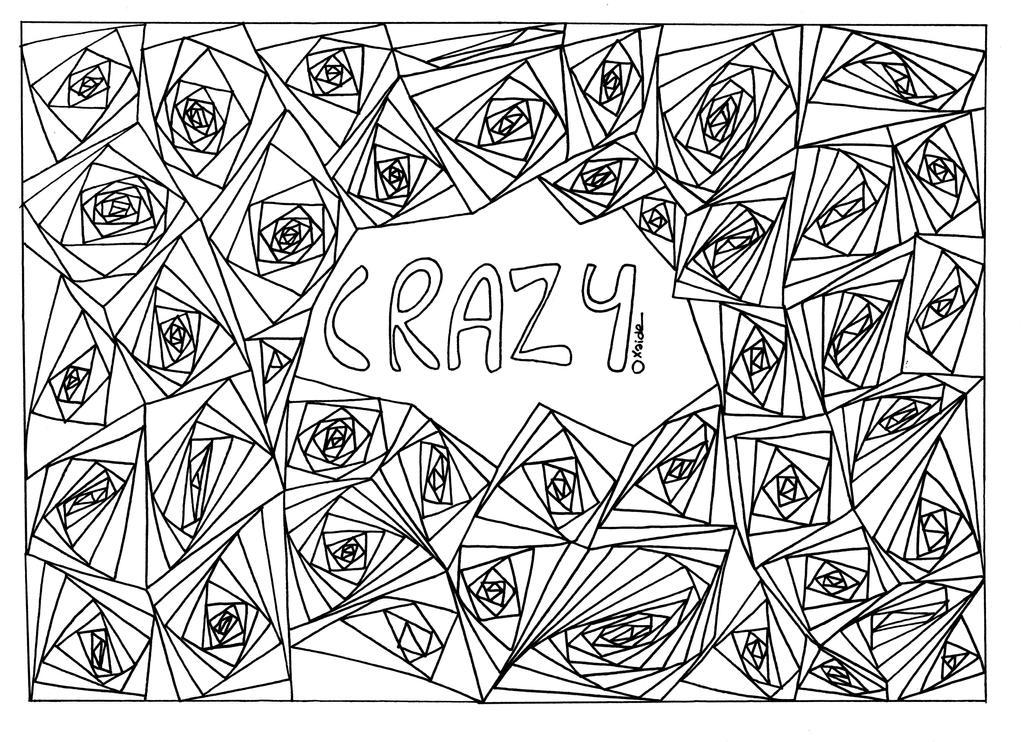 Crazy Mandala by xaide89