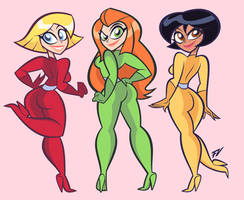 Commission:Totally Spies!
