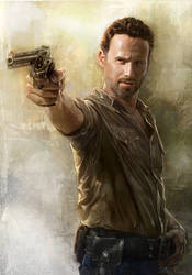 The Walking Dead - Rick Grimes by JohnLaw82