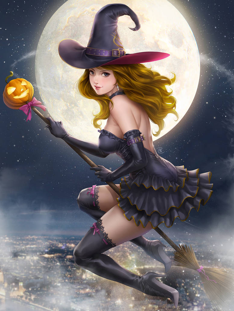 Halloween Witch by JohnLaw82