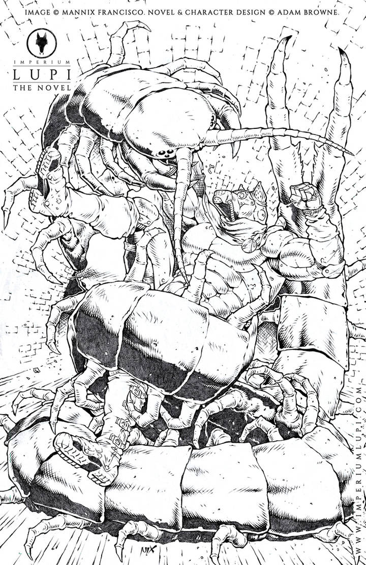 Rafe VS the Sewer Centipede (by Mannix)