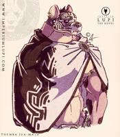 Imperium Lupi - Felt-tip Themba (Cloaked) by Imperiumlupi
