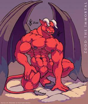 Fanart - Zodd the Immortal (colour)