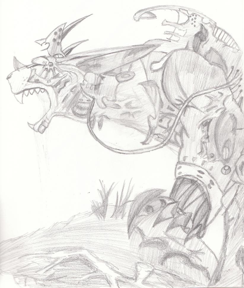 Dragon by Thorn-Irken