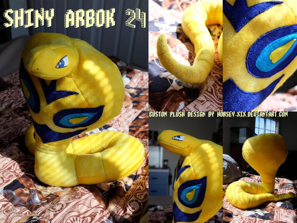Shiny Arbok Plushie!