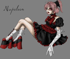Napoleon Muted Red by Napoleon-chan