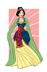 victorianesque Mulan