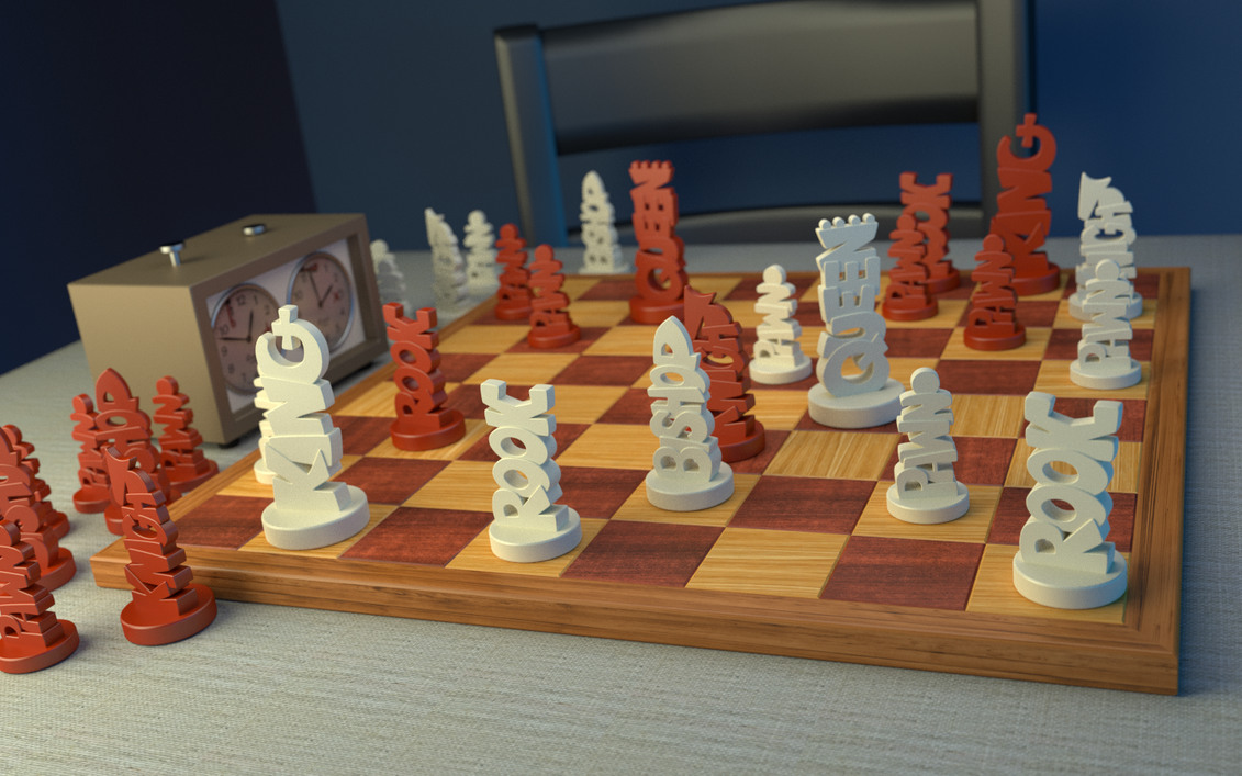Unique Chess Set By Joshmaule On Deviantart