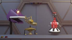 Robot Roll Call by JoshMaule