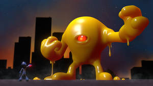 Mega Man vs. Yellow Devil by JoshMaule