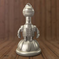 Tom Servo Keychain by JoshMaule