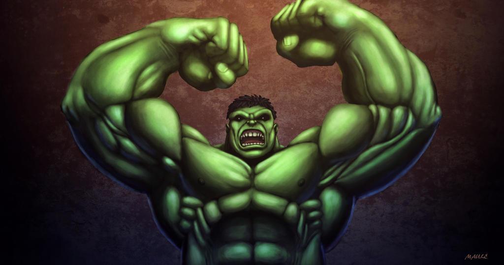 Incredible Hulk by JoshMaule
