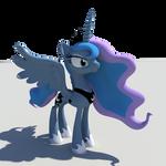 Work in Progress Princess Luna Statue Update #3