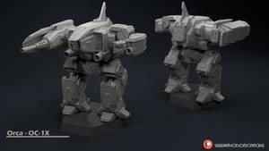 Orca - OC-1X Miniature Sculpt