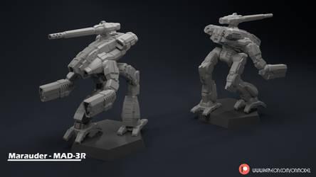 Marauder - MAD-3R Miniature Sculpt