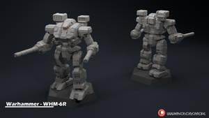 Warhammer - WHM-6R Miniature Sculpt