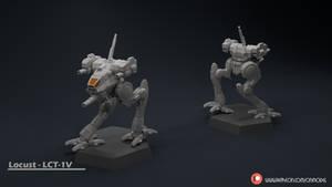 Locust - LCT-1V Miniature sculpt