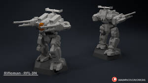 Rifleman - RFL-3N Miniature Sculpt by Sentinel373